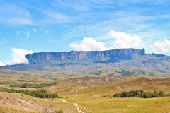 Track To Mount Roraima Royalty Free Stock Photography