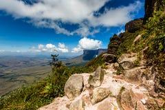 Track to Mount Roraima - Venezuela, South America Royalty Free Stock Photos