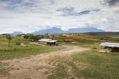 Track to Mount Roraima - Venezuela, South America Stock Image