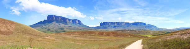 Track to Roraima Stock Image