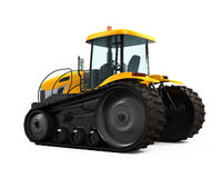 Track Tractor Isolated Stock Photos