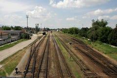 Track, Transport, Rail Transport, Sky stock images