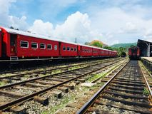 Track, Transport, Rail Transport, Train royalty free stock image