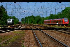 Track, Transport, Rail Transport, Train royalty free stock images