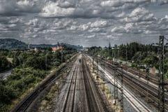 Track, Transport, Sky, Rail Transport stock images