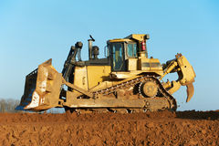 Track-type bulldozer loader Royalty Free Stock Photography