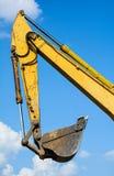 Track-type loader excavator machine Stock Image