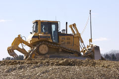 Track Type Tractor. Track-Type Bulldozer Tractor Stock Images