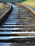 Track in Winter Stock Photography