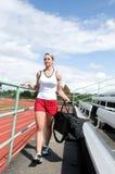 track woman Στοκ Εικόνες