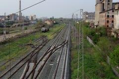 trackage Zdjęcie Stock
