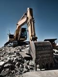 Tracked excavator Stock Image