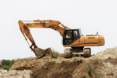 Tracked excavator Royalty Free Stock Photo