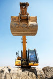 Tracked excavator Royalty Free Stock Photography