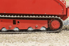Tracked fire fighting vehicle Stock Photography