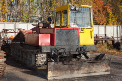 Tracked skidder Royalty Free Stock Photography