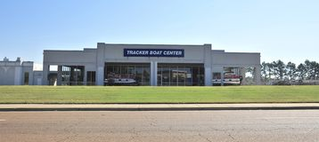 Tracker Boat Center Memphis, TN Stock Photo