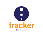 Tracker Logo Design Stock Image