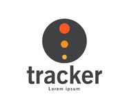 Tracker Logo Design Stock Photography