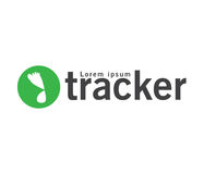 Tracker Logo Design Stock Images