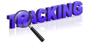 Tracking delivery post sending logistics Royalty Free Stock Photography