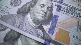 American Dollars: Banknote 100  President Benjamin Franklin
