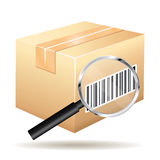 Tracking number icon. Royalty Free Stock Photo