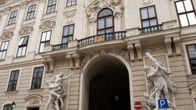 Tracking shot palace vienna royalty free stock images