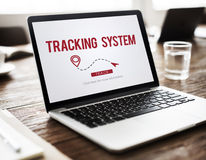 Tracking System Electronic Fitness Gadget Workout Concept Royalty Free Stock Photo