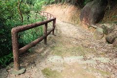 Tracking way in Coloane Park. In Taipa, Macao on april 2014 Stock Images