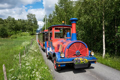 Trackless train Stock Photography