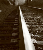 On the tracks Royalty Free Stock Photography