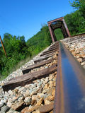 On the tracks Royalty Free Stock Photo