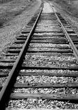 Tracks 3. Railroad tracks leading into the Idaho countryside Royalty Free Stock Photo