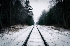 The Tracks Royalty Free Stock Photography