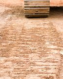 Tracks In Dirt Royalty Free Stock Image