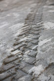 Tracks in Mud 7 Royalty Free Stock Images