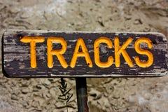 Tracks Royalty Free Stock Image