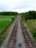 Tracks at rushcliffe country park Royalty Free Stock Images