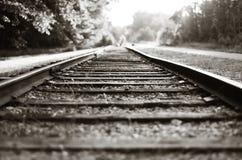 Tracks to no where Stock Image