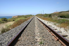 Tracks to Nowhere Stock Image