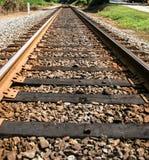 Tracks to Vanishing Point Stock Image