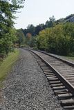 Tracks to your next destination Royalty Free Stock Photography