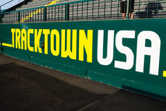 Tracktown USA Sign at Historic Hayward Field Eugene, OR Royalty Free Stock Photography