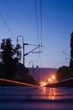 trackway 免版税图库摄影