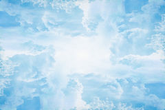 Tract cloud heaven Stock Photo
