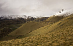 The tract Gil-su in cloudy weather.The Northern Caucasus Royalty Free Stock Photos