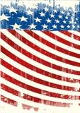 Tract grunge américain de backround Images libres de droits