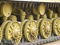 Tracteur à chenilles photographie stock