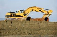 Tracteur à chenilles Images libres de droits